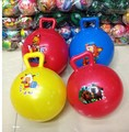 Juguete del bebé Bola con Mango de Agarre De Goma Bebé Bola Divertido toys de interior al aire libre diversión deportes interesante juguete bolas niños bata bola