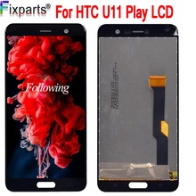 New Tseted 5.2 LCD Display Touch Screen Digitizer Assembly Replacement For 1920x1080 HTC U Play + Tools  Free shipping free shipping b156hw01 v 5 b156hw02 lp156wf1 tlb2 ltn156ht01 ltn156ht02 15 6led 1920x1080 40pin lcd display laptop screen