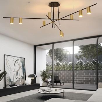 Post-moderne creatieve mutihead hanglamp eenvoudige bar woonkamer eetkamer slaapkamer persoonlijkheid hanglampen