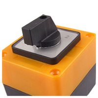Promotion 3 Position Rotary Switch Switch LW 28 20 3500 V 20 A Black Yellow