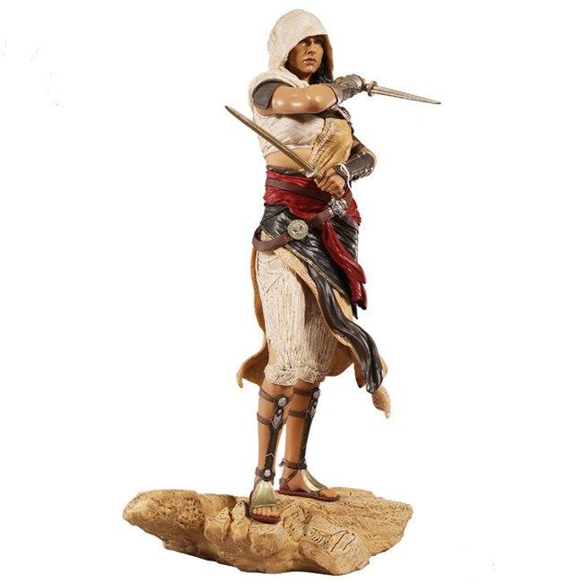 Assassin's Creed Aya Action Figure 1/6 scale painted figure Origins Aya PVC figure Garage Kit Toy Anime assassin s creed origins action figure bayek aya pvc 230mm anime assassin s creed origins figurine model toys