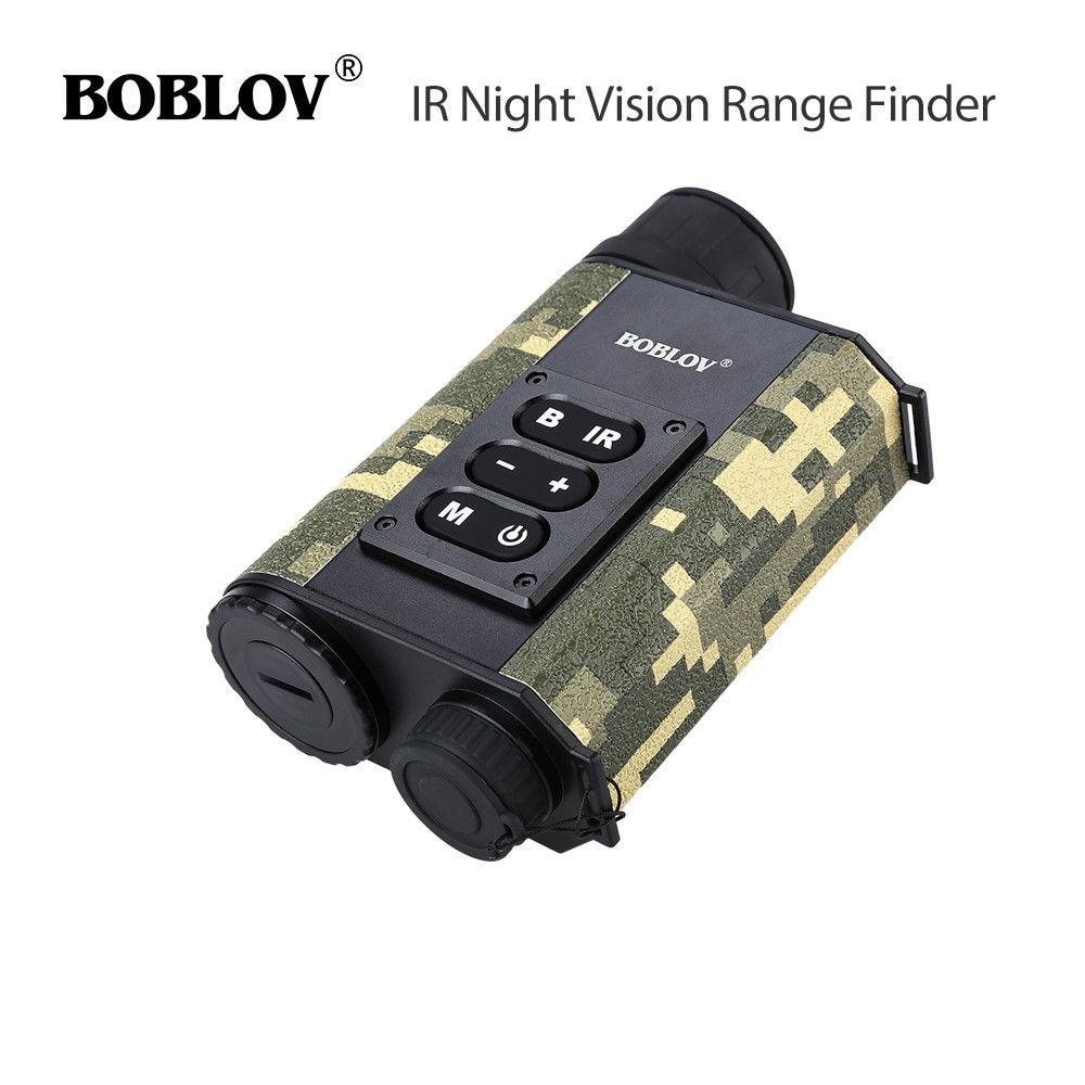 BOBLOV LRNV009 Ranging Finder 500M Infrared Night Vision Monocular telrad Telescope Hunting camera nachtsicht entfernungsmesser