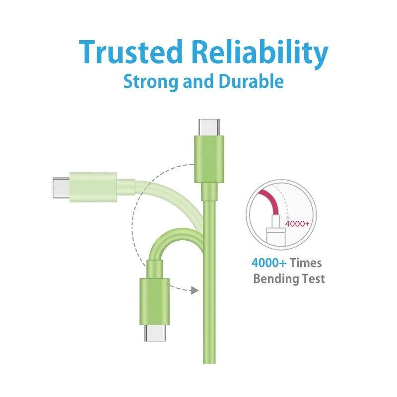 Image 4 - Acgicea Cable USB tipo C para Samsung S8 Xiaomi Redmi Note 7 K20 Pro teléfono móvil carga rápida USBC Cable de Cable tipo c cargador de USB CCables para teléfonos móviles   -