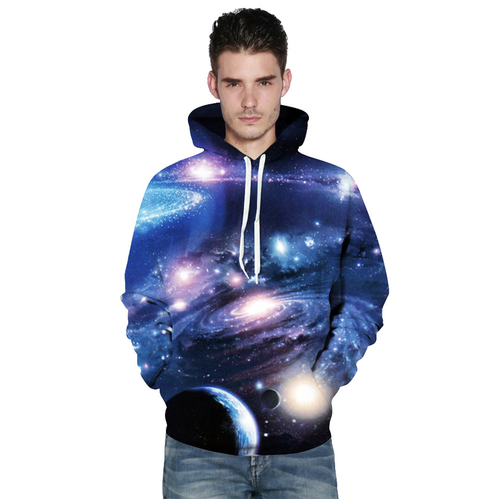 2017 Giraffita Planet 3D Loose Hooded Uniform Wholesale Clothing For Men And Women Couple