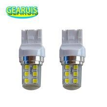 10pcs T25 3157 T20 7443 Strobe flash Blink 12 SMD 2835 LED Silicone reverse lights brake light Parking Lamp 12V White red blue