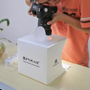 """Image 4 - Mini składany zdjęcie z kamery pudło studyjne oświetlenie fotograficzne zestaw namiotowy lightroom Emart rozproszone studio softbox ulubionych 20*20cm 8"""""""