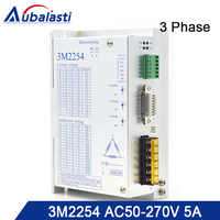 3phase AC stepper motor drver 3M2254 input voltage AC50-270V match With 86 110 serial step motor use for cnc router