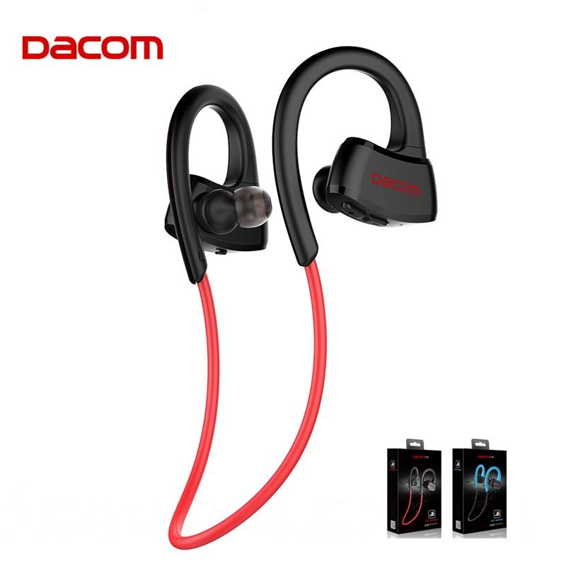 DACOM P10 Bluetooth Earphone IPX7 Waterproof Running Headphone Wireless Sports Stereo Music Headset for Phones with Retail Box