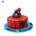 7PCS Anime Cartoon Spider Man PVC Action Figure Spiderman Collection Model Cake Topper Picks Birthday Gifts Toys For Boy 7-11cm