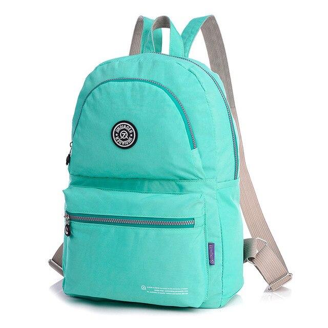 e34a1a69e1ec Новый Для женщин рюкзак женские рюкзаки высокое качество Водонепроницаемый  нейлон Для женщин сумка Для женщин Путешествия