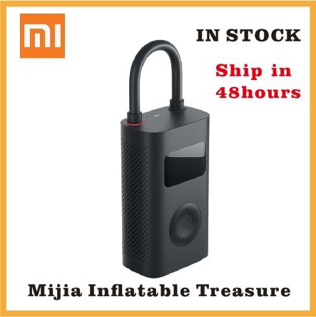 Xiaomi Electric Air Pump Mijia Rechargeable inflator 150PSI Smart Digital Tire Pressure Detection for Football Car Bike Pump(China)