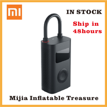 Xiaomi Electric Air Pump Mijia Rechargeable inflator 150PSI Smart Digital Tire Pressure Detection for Football Car Bike Pump