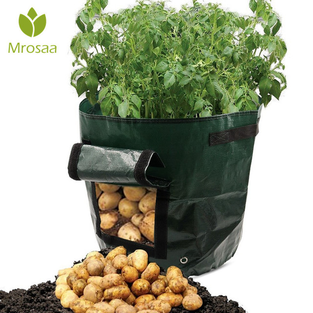 Outdoor Vertical Garden Hanging Open Style Vegetable Planting Grow Bag Potato Strawberry Planter Bags For Growing Potatoes In From Home