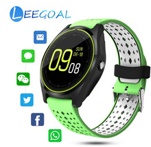 Bluetooth Good Watch Huge Battery  Smartwatch  For Android IOS Fb Whatsapp Twitter Cellphone Name TF Card  Blood Strain