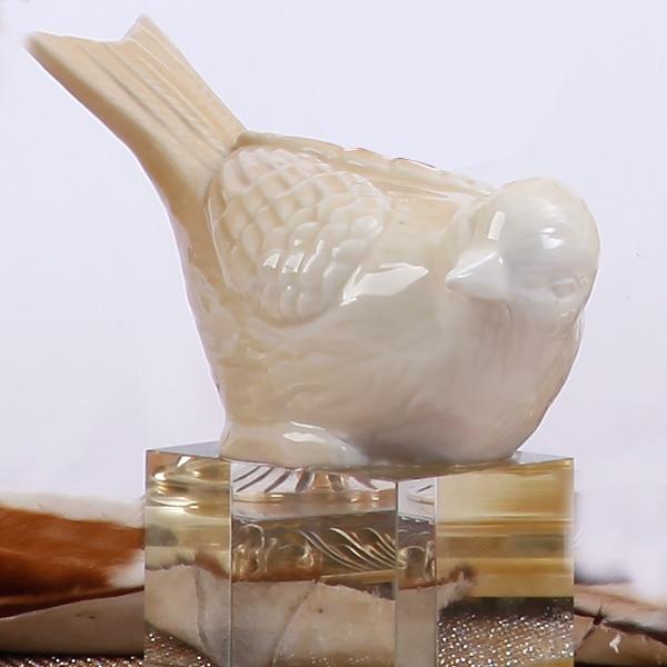 Minimalist Ceramic Bird Home Decor Cafts Room Decoration