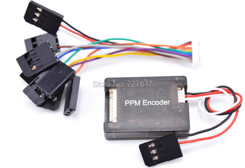 PPM Encoder for Pixhack Pix PPZ MK MWC MegaPirate APM Flight Controller xtend xtp9b wireless data transmission module kit rf box 900mah 1w for apm pixhawk pixhack flight controller