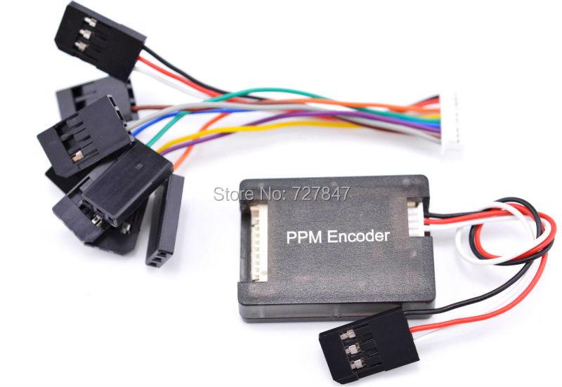 PPM Encoder for Pixhack Pix PPZ MK MWC MegaPirate APM Flight Controller