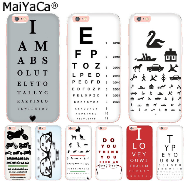 Maiyaca Test Eye Chart Amazing New Arrival Phone Case Cover For