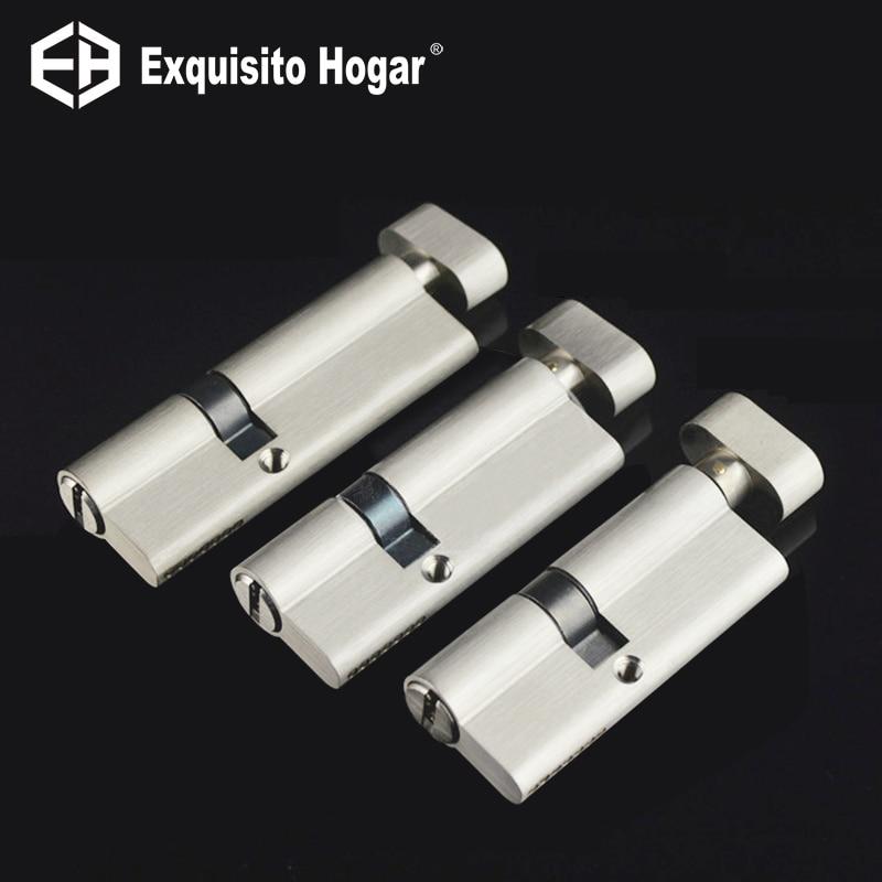 Irregular Security 75 80 90mm Door Lock Brass Cylinder Single Open Knobs Eccentric Entrance Bedroom