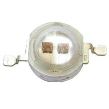 50 шт. 2 Вт двойной чип 1.7 В 600ma инфракрасный ИК-940nm LED Диоды бисера Свет для ночного видения Камера