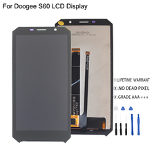 Original For Doogee S60 LCD Display Touch Screen Digitizer Assembly For Doogee S60 Display Screen LCD Phone Parts цена 2017