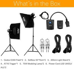 Image 2 - 600Ws Godox Strobe Studio Flash Light Kit 600W   Photographic Lighting   Strobes, Light Stands, Triggers, Soft Box
