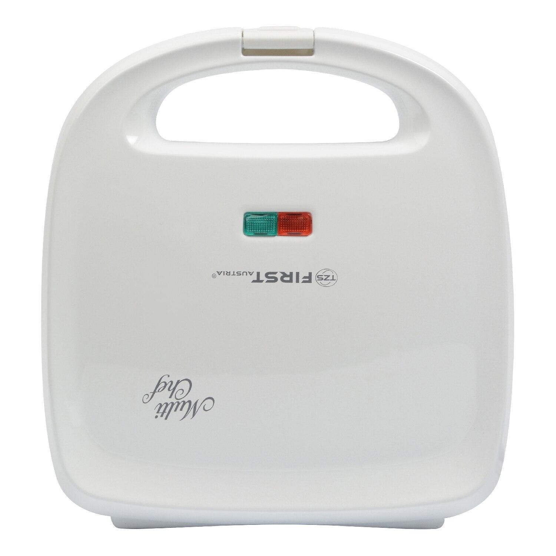 The sandwich toaster FIRST FA-5342-1 White diy mini heart shape sandwich bread maker mould deep pink beige