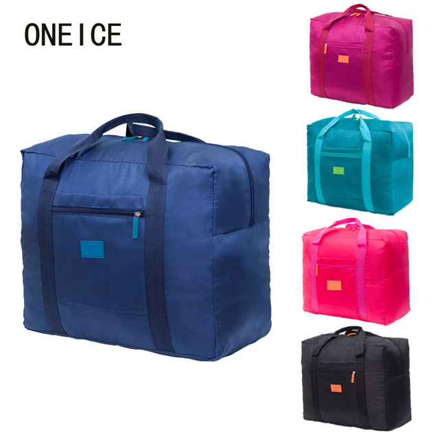 4fdfb4ee388e Folding Travel admission package travel portable pouch finishing bags large  capacity bag waterproof short