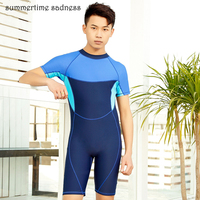 High Quality Bodysuits Swim Maillot One Piece Swimsuit Athlete Tom Boy Comfortable Quick Dry Snorkeling Clothes