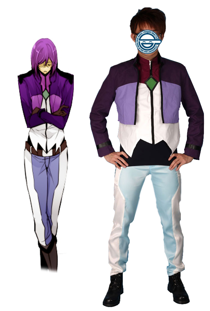 Free Shipping Mobile Suit Gundam00 Celestial Being Tieria Erde VIRTUE Gundam Meisters Un ...