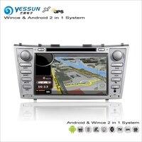 YESSUN для Toyota Aurion XV40/Camry 2006 ~ 2012 автомобильный Android Мультимедиа Радио CD DVD плеер gps географические карты навигации Аудио Видео Стерео