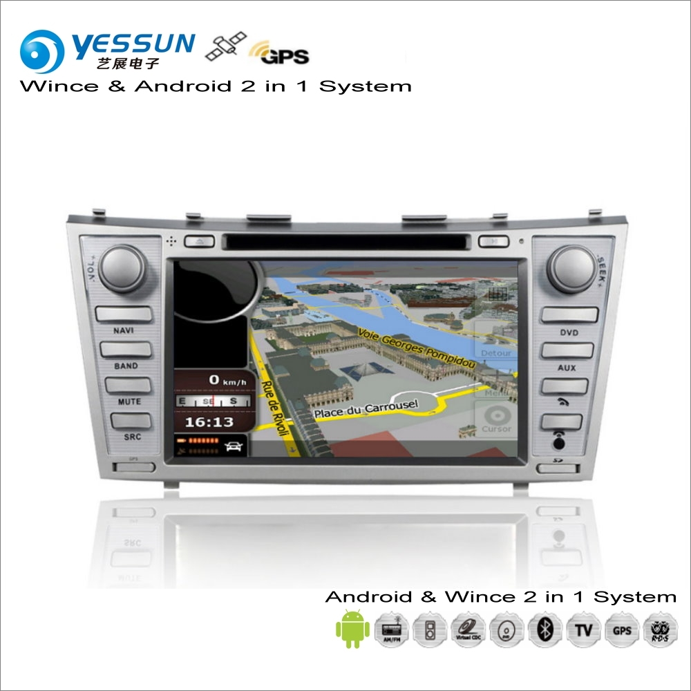 YESSUN For Toyota Aurion XV40 / Camry 2006~2012 Car Android Multimedia  Radio CD DVD Player GPS Map