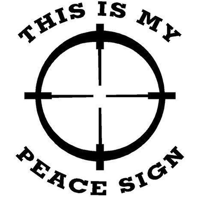 this is my peace sign