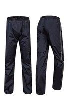 Double Layer Thicker rain-proof pants Waterproof Windbreak Motorcycle Bicycle Raincoats safety shine tapes ride Rain Pants