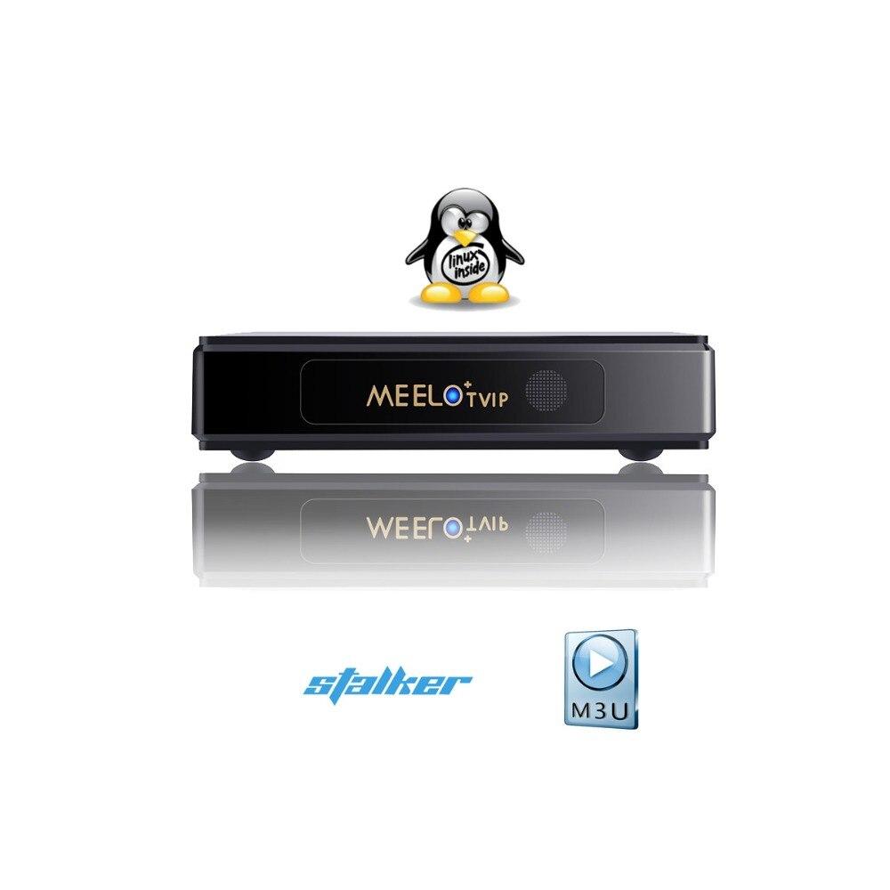 Système LINUX Meelo Tvip Stalker lecteur multimédia de Streaming 2.4GWIFI fournira aux clients un abonnement à divers de différents