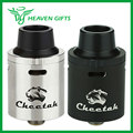 Original OBS Cheetah RDA Tank Electronic Cig Rebuildable Dripping Atomizer Temp Conrol Top Airflow Control with POM drip tip
