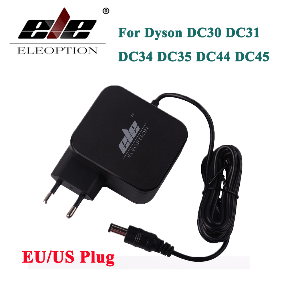 New AC Adapter <font><b>Battery</b></font> Charger Adapter for <font><b>Dyson</b></font> DC30 <font><b>DC31</b></font> DC34 DC35 DC44 DC45 DC56 DC57 24.35V 348mA 16.75V 17530-02 EU/US plug