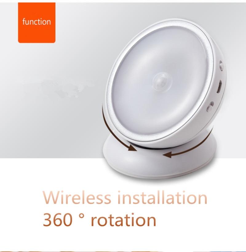 Luzes da Noite magnético de 360 graus lâmpada Warranty : 1 Year