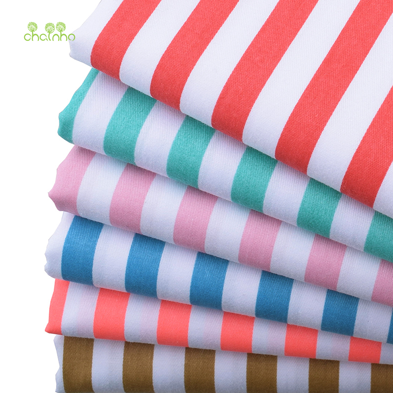 Chainho Clearance Sale/Printed Twill Cotton Fabric For DIY Patchwork Quilting Sewing/Tissue Of Baby & Children/Sheet,Pillow
