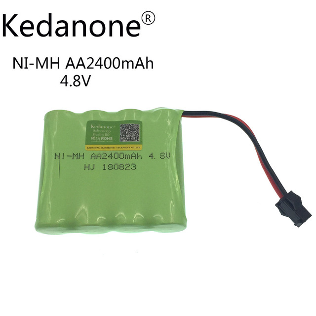 Kedanone 4 8v Rechargeable Battery 2400mah Nickel Metal Hydride Pack Remote Controlled Aircraft Car Rc Boat Electric Toy