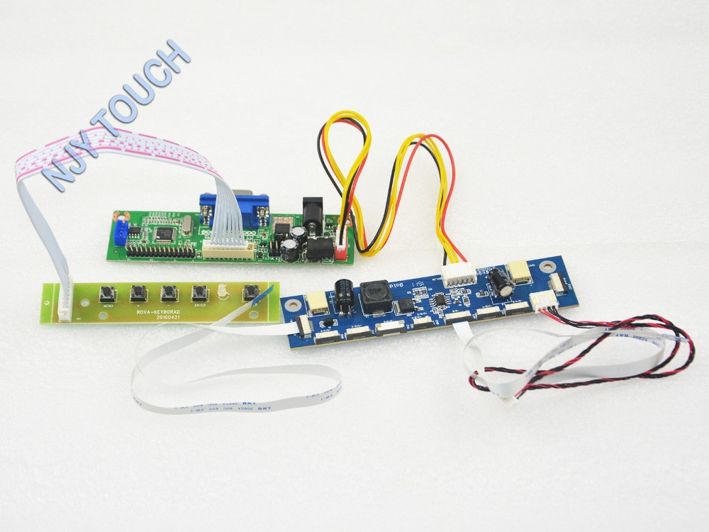 V.M70A VGA Universal LCD Controller Board DIY Kit For M185B3-L01 M185B3 L01 18.5 inch 1366x768 LED 91500-01201-H01 LVDS TFT LCD 31x12x3 inch universal turbo fmic intercooler 3 inch piping kit toyota supra mkiii mk3 7mgte
