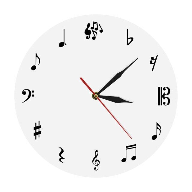 Reloj de pared de estudio de música 23e4e7cd8219
