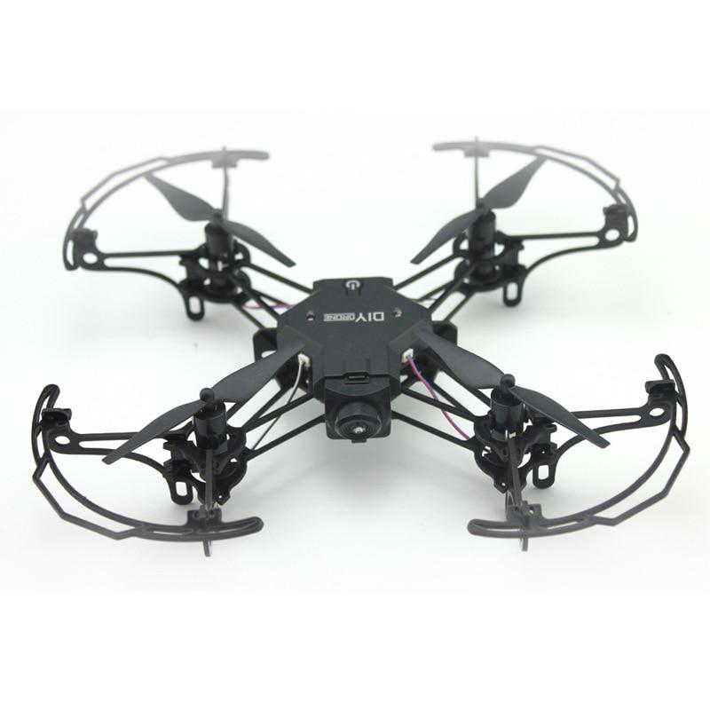 Diy Mini Drone Met/Zonder HD Camera Hoge Hold Modus RC Quadcopter RTF WiFi FPV Opvouwbare RC Drone - 5