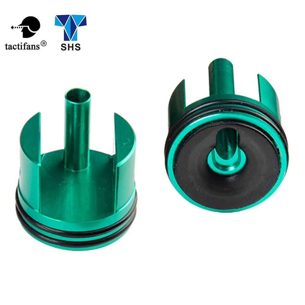 SHS M14 EBR Socom 16 Cylinder Head For AEG Compatible Ver.7 Gearbox CNC Anodized Green Shooting Hunting Airsoft Accessories