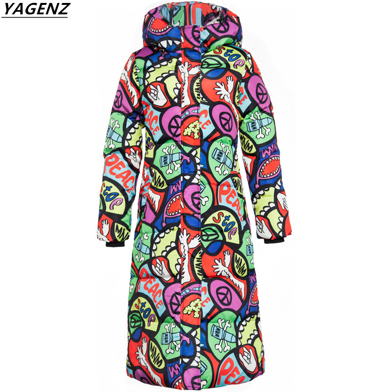 Winter Coat 2017 New Fashion Down Cotton Jacket Hooded Women Warm Parkas Plus Size Slim Women Winter Jackets Coats YAGENZ A168 winter jacket women nice new style parkas overcoat brand fashion hooded plus size cotton padded warm jackets and coats aw1148