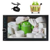 Camera Included Android 6 0 Car Stereo Capacitive Screen Two Din GPS Navigation Vehicle Radio Receiver