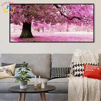 50 100 Large Oil Pictures By Numbers Painting Calligraphy Coloring By Number Picture For Living Room