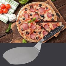 купить None Round Stainless Steel Shovel for Kitchen Pizza Cake Baking Tool по цене 454.71 рублей