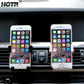 Black White Car Phone Holder Air Vent Mount Mobile Phone Holder Extendable for iphone Samsung Xiaomi LG Sony Huawei HTC