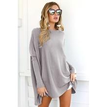 Autumn new o-neck Loose t shirts hot sale long lantern sleeve solid short t-shirts for women clothing fashion t-shirt Ladies